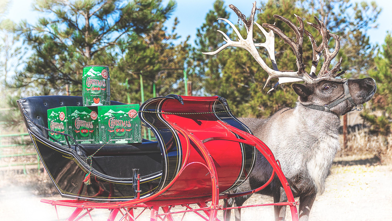 В преддверии Рождества в Колорадо пиво будут доставлять на оленях