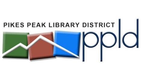 pikes peak library district logo