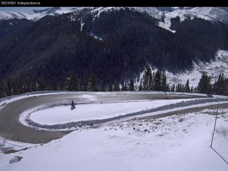Independence Pass around 12:30 p.m. Thursday. / Photo courtesy CDOT