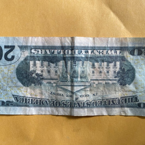 Photo provided by the Teller County Sheriff's Office shows a fake $20 bill recently passed in Teller County.