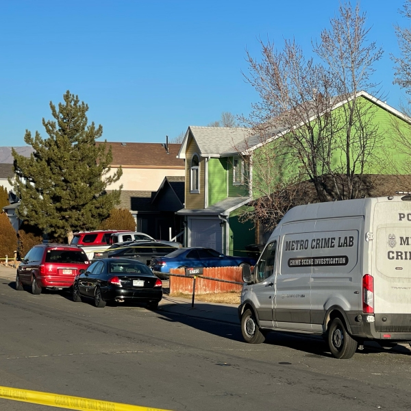 Police investigating after a man was shot dead in southeastern Colorado Springs Friday morning. / Brandon Seffrood - FOX21 News