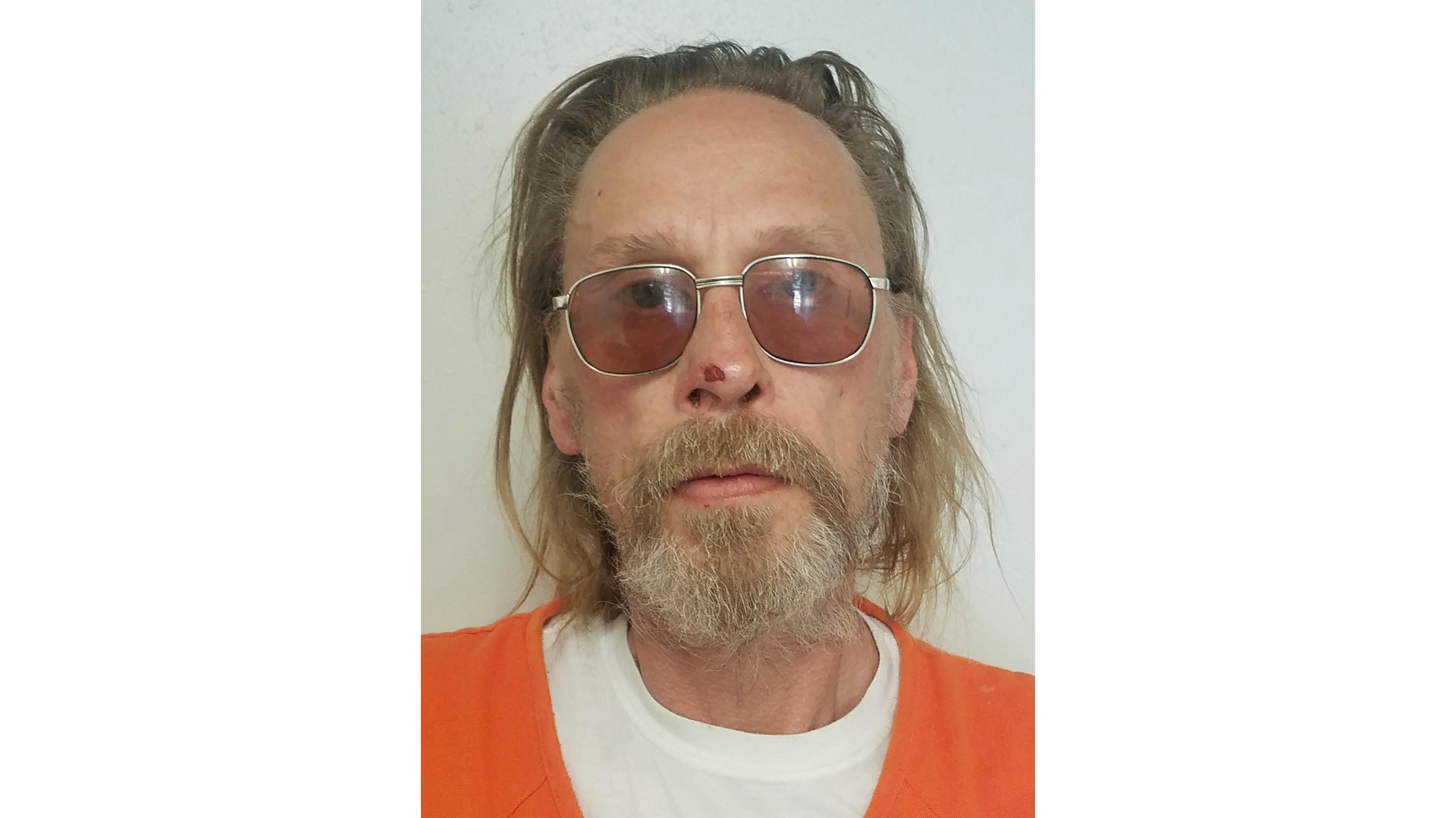 FILE - This undated file photo released by the Costilla County, Colo., Sheriff's Office shows Jesper Joergensen. With no viable option remaining for trying Joergensen, a mentally ill Danish man accused of starting a large Colorado wildfire in 2018, a judge said Thursday, Feb. 4, 2021, he will rule next week on whether to dismiss criminal charges against him. (Costilla County Sheriff's Office via AP, file)