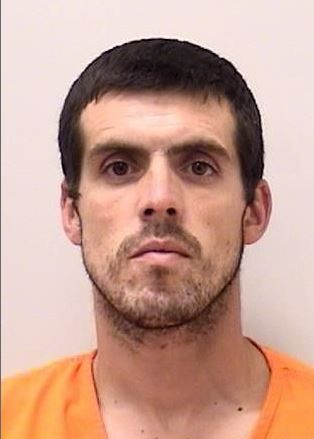 "ANTHONY DANIEL RAMOS-ROW is a White Male, 32 years old, 6'2"" tall, and 170 lbs., with brown hair and brown eyes. RAMOS-ROW is wanted for Burglary, Firearm – Illegal Discharge, Theft, Criminal Mischief and Violation of Protection Order."
