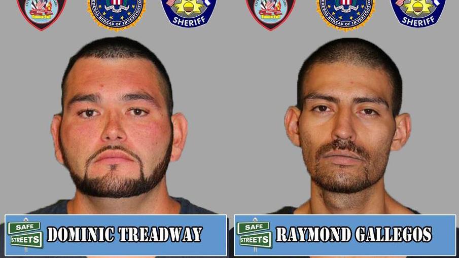 Dominic Treadway and Raymond Gallegos / Pueblo Police Department