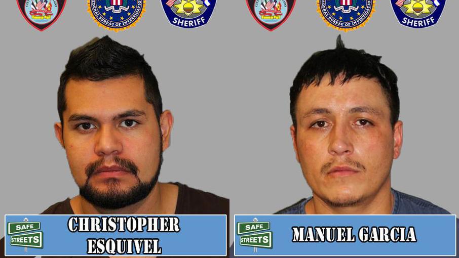 Christopher Esquivel and Manuel Garcia / Pueblo Police Department