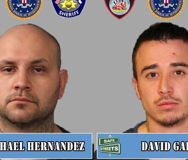 Michael Hernandez and David Garcia / Pueblo Police Department