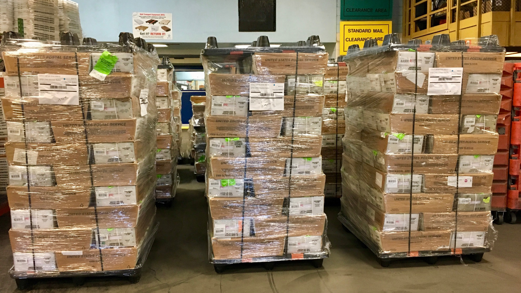 Ballots ready to be mailed. / Courtesy City of Colorado Springs