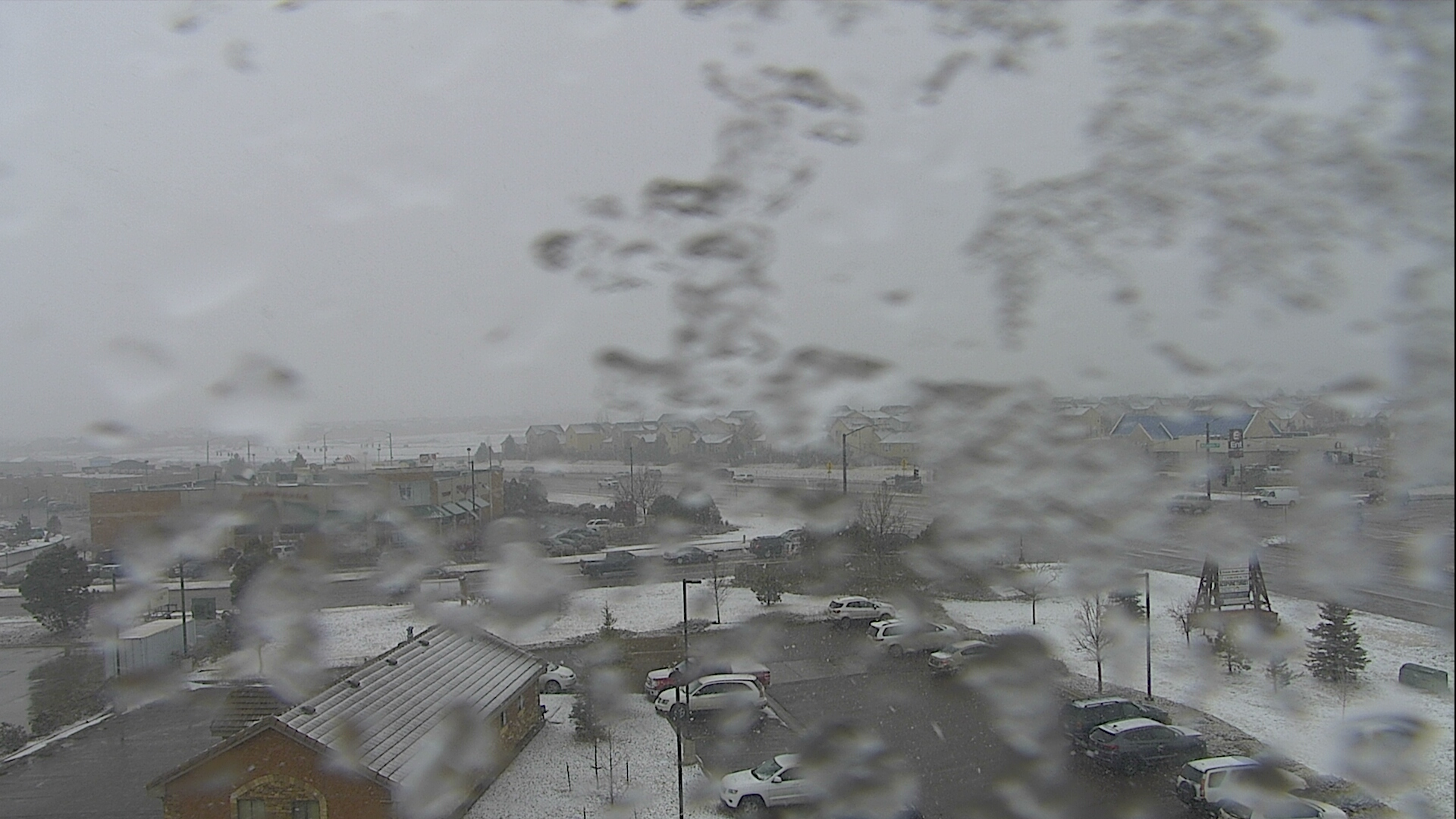 A view from Falcon around 12:30 p.m. Thursday.