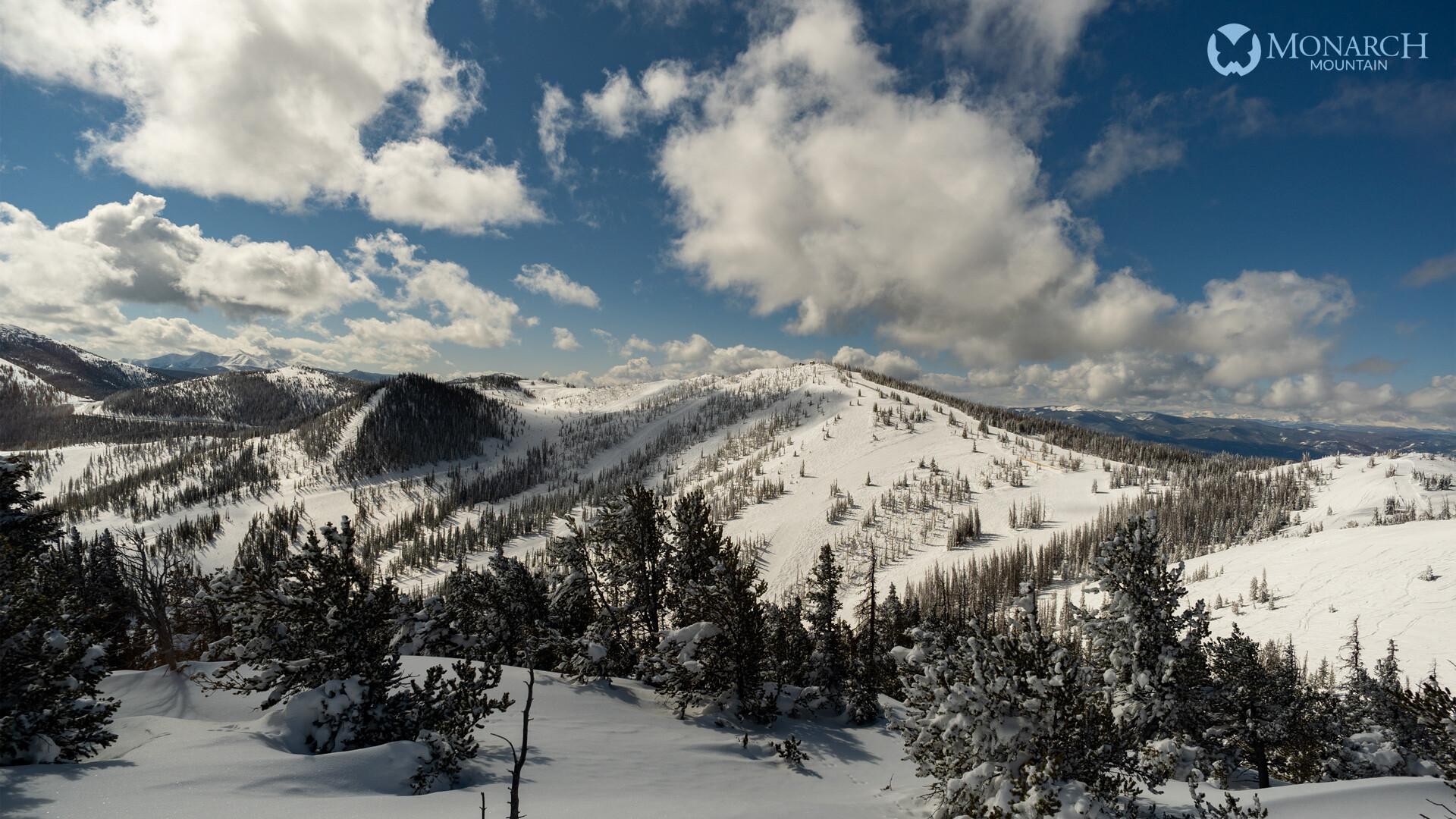 Monarch Mountain around 11 a.m. Tuesday.