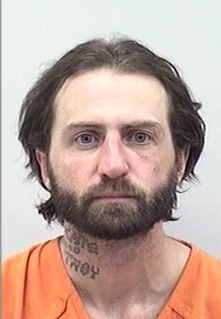 "PHILIP HAYDEN OWEN is a White Male, 39 years old, 5'10"" tall, and 140 lbs., with brown hair and blue eyes. OWEN is wanted for Stalking, Violation of Protection Order and Harassment."