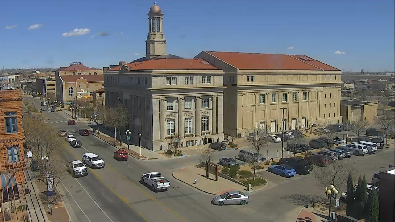 Pueblo City Hall around 2 p.m. Wednesday.