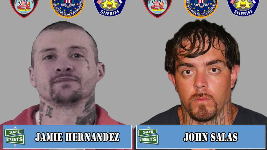 Jamie Hernandez and John Salas / Courtesy Pueblo Police Department