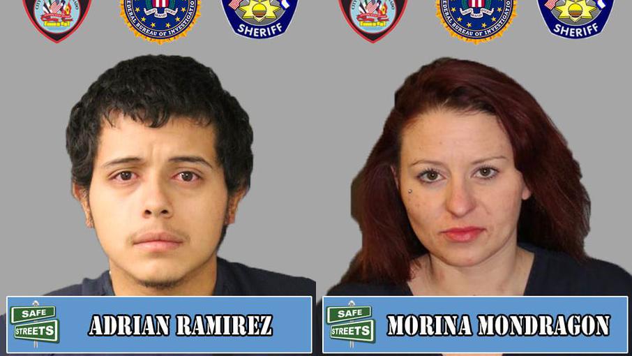 Adrian Ramirez and Morina Mondragon / Pueblo Police Department