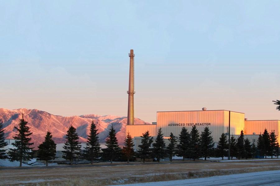 In this Jan. 31, 2007 photo released by Idaho National Laboratory shows its Advanced Test Reactor at Sunrise at Idaho National Laboratory's desert site about 50 miles west of Idaho Falls, Idaho. (Idaho National Laboratory via AP)