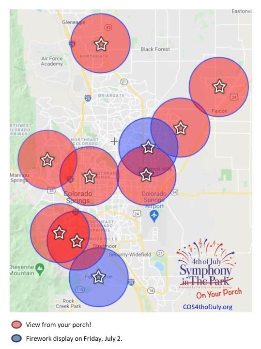 Map courtesy Colorado Springs Sports Corporation