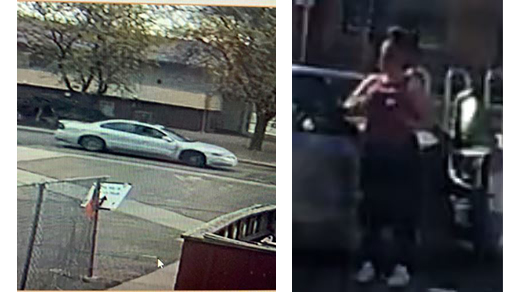 Police in La Junta are looking for this car in connection with a fatal shooting Friday. They are also looking for the woman pictured, who they say may have been with the suspect before the shooting. / Photos courtesy Colorado Bureau of Investigation