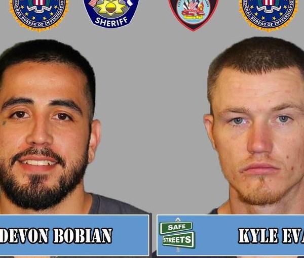 Devon Bobian and Kyle Evans / Pueblo Police Department
