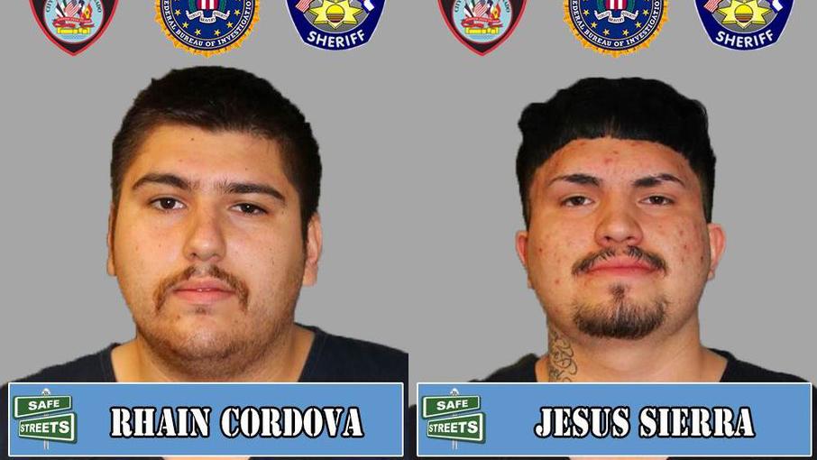 Rhain Cordova and Jesus Sierra / Courtesy Pueblo Police Department