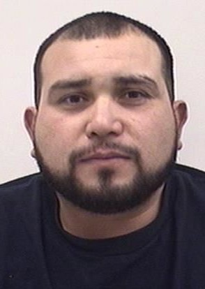 """LUIS DANIEL PEREZ is a White Male, 35 years old, 5'7"""" tall, and 210 lbs., with black hair and brown eyes. PEREZ is wanted for Felony Menacing w/Weapon, Possession of Weapon – Previous Offender, Assault 3, Theft, Driving w/Revoked License and Driving Under the Influence."""
