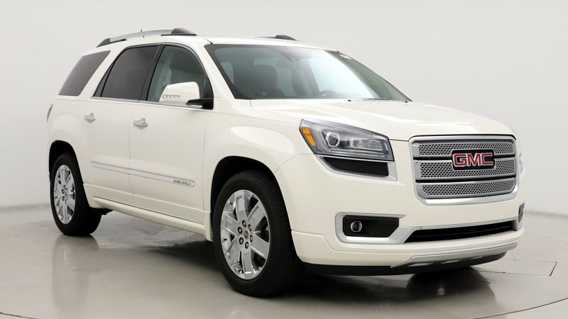 Stock photo of a GMC Acadia similar to the one involved in a road rage shooting in southern Colorado Springs Sunday.