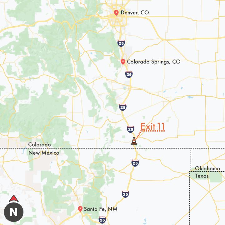 Map courtesy CDOT