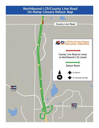 Map courtesy Colorado Department of Transportation