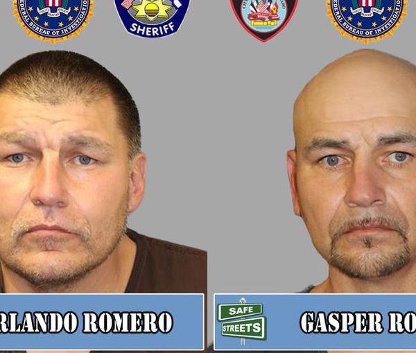 Orlando Romero and Gasper Romero / Courtesy Pueblo Police Department