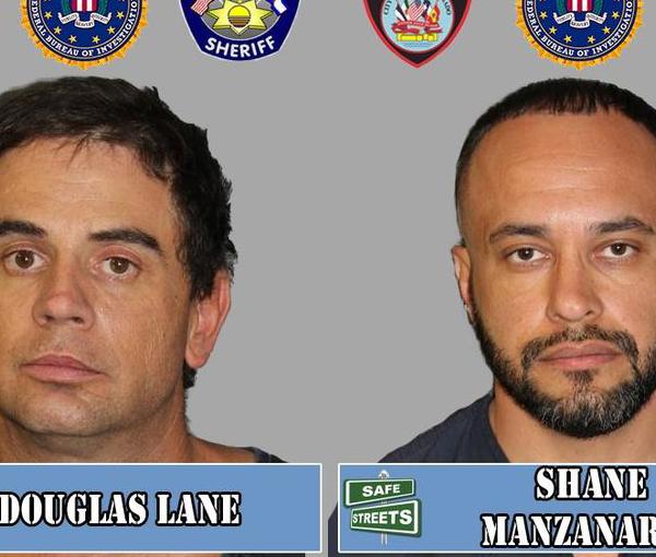 Douglas Lane and Shane Manzanares / Courtesy Pueblo Police Department