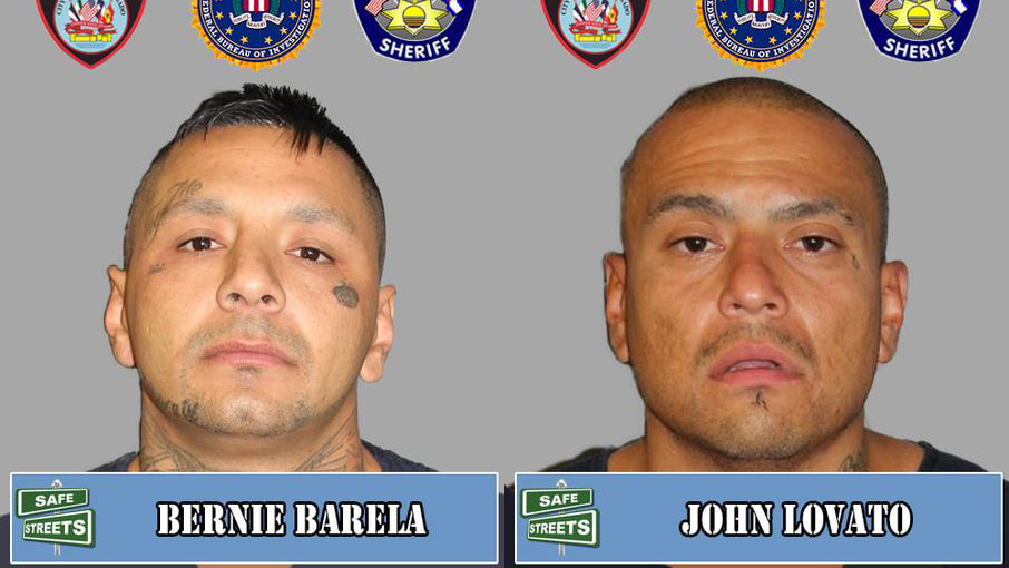 Bernie Barela and John Lovato / Photos courtesy Pueblo Police Department
