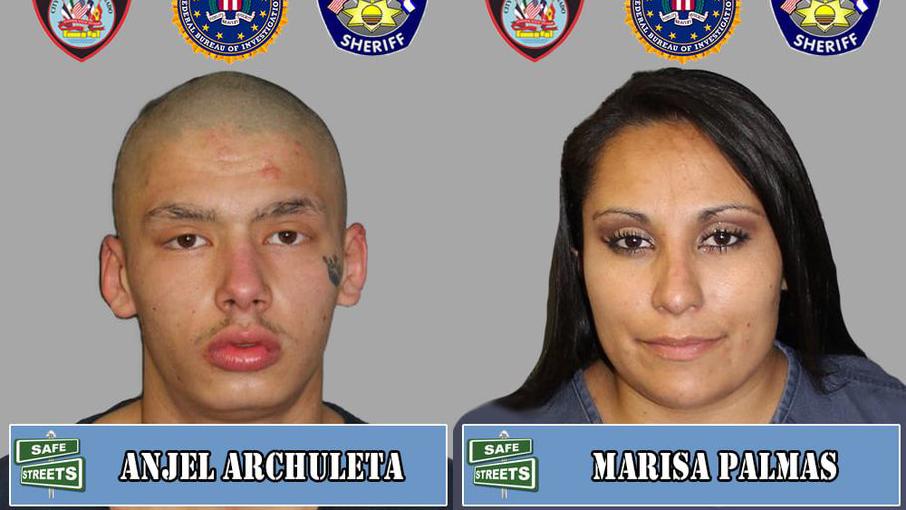 Anjel Archuleta and Marisa Palmas / Pueblo Police Department