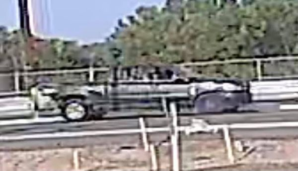 Police are looking for this truck in connection with a hit-and-run crash Sunday. / Photo courtesy Pueblo Police Department